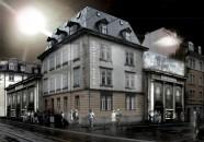 Kino Razzia, Visualisierung