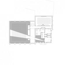 Kino Razzia, Grundriss, 2. Obergeschoss, 1:100