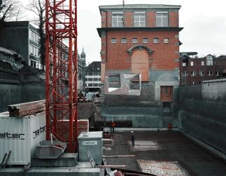 Mock Up 1:1, Aluminium, 5m x 3m (Bild Tobias Madörin)