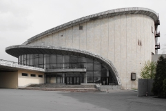 Zirkushaus, ca. 1980 Charkiw, Ukraine