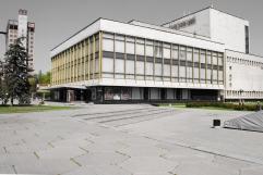 Opernhaus, ca. 1980 Dnipropetrowsk, Ukraine