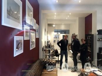 "Vernissage ""Innenwelten"" Salon Eddine Belaid, April 2015"
