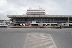 Hauptbahnhof, Bairamashvili, Kavlashvili, G. Shavdia, Jibladze 1980 Tiflis, Georgien