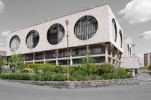 Bürohaus, ca. 1975 Jerewan, Armenien
