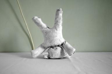 Teddybär, Druck 40cm x 60cm, gerahmt